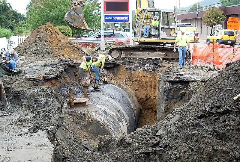 excavation workers